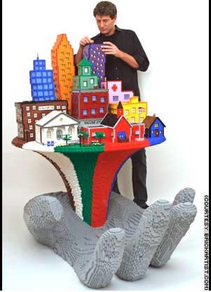 lego-skulpturen