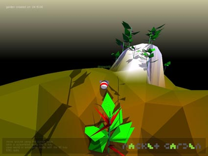 packet garden: screenshot