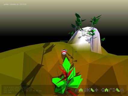packet garden: screenshot