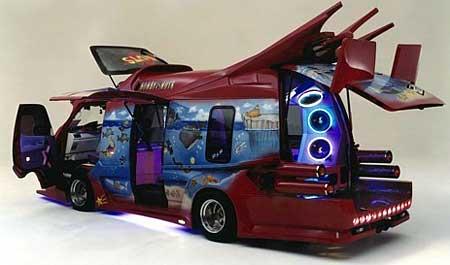 pimp my van: japanese-edition