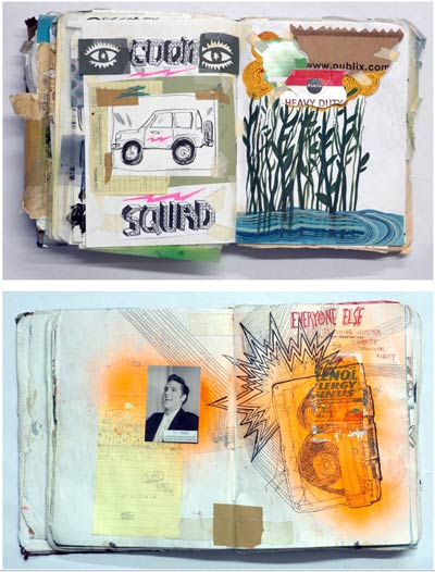 sketchbooks: ted mcgrath